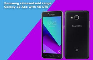 Samsung J2 Ace