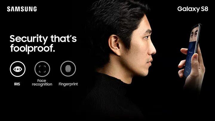 Samsung S8 security