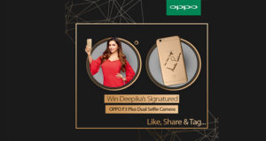 oppo f3 plus and deepika padukone
