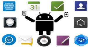 Blackberry applications android