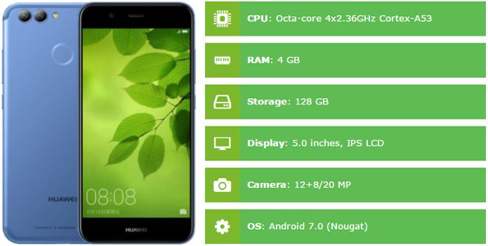 Huawei nova 2 Plus Specification
