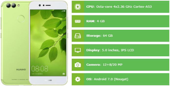 Huawei nova 2 Specification