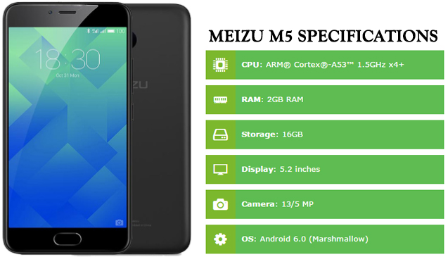 Meizu M5 Specifications