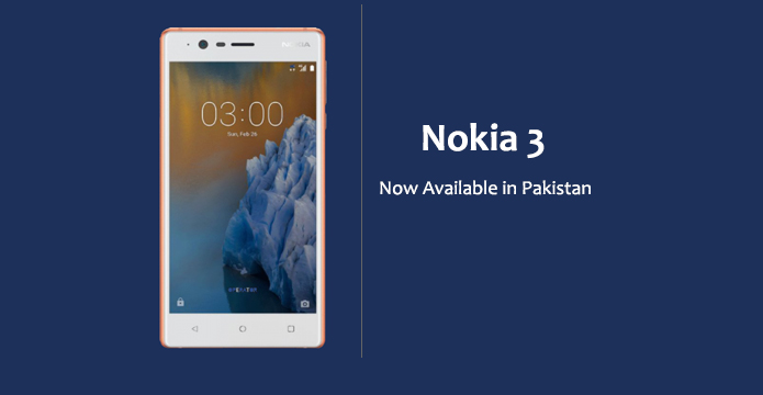 nokia 3 is now officially available in pakistan about phone