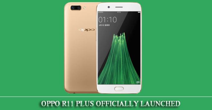 Oppo R11 Plus Revealed Officially