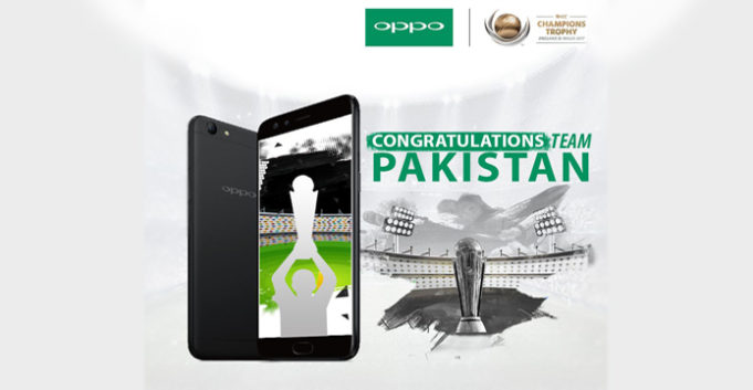 Oppo with Pakistan