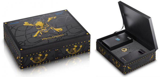 Samsung Galaxy S8 POTC Treasure Box