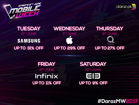 mobile week discount