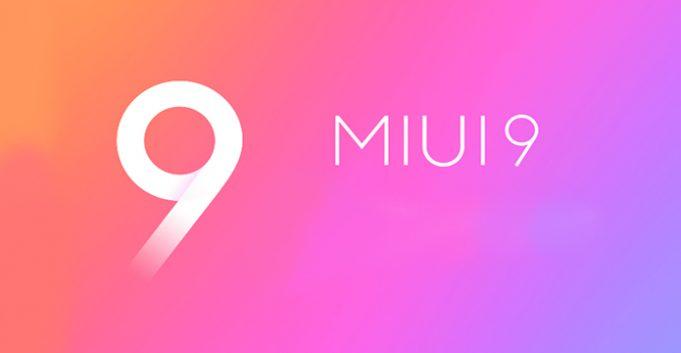 MIUI 9 Interface