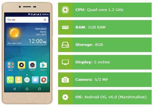 QMobile i8i Specifications