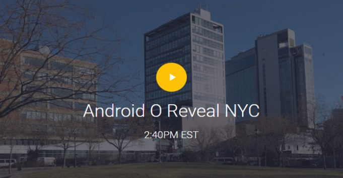 Android O Reveal NYC