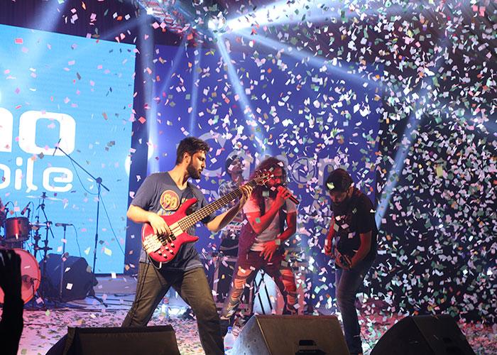 Asrar At Tecno Mobile Launch Event