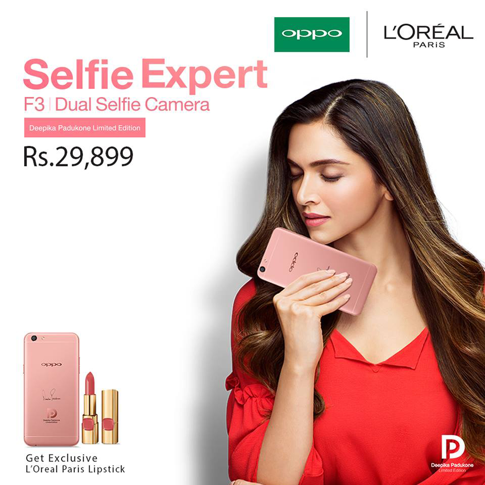 Deepika With Oppo
