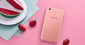 Oppo F3 Rose Gold variant