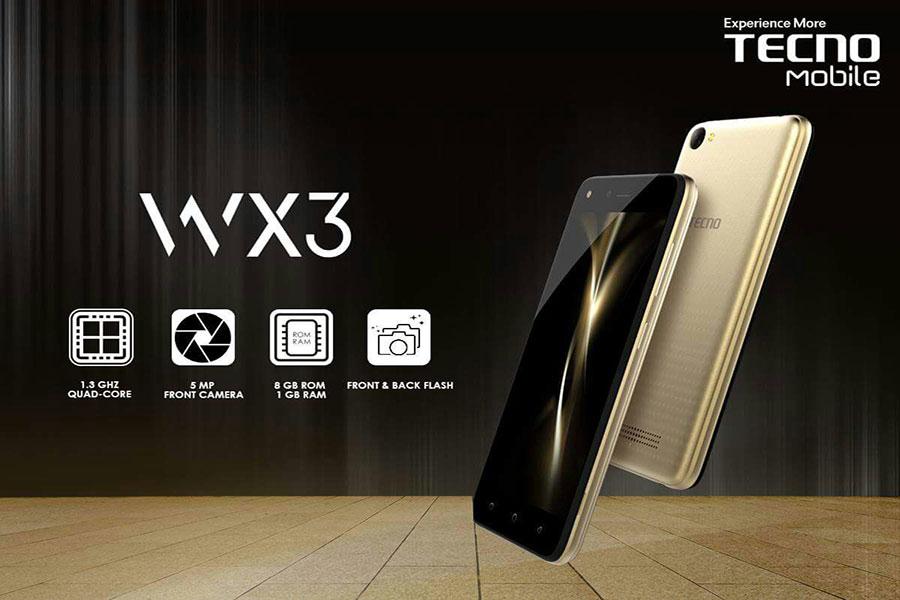 Tecno Mobile WX3 Price in Pakistan