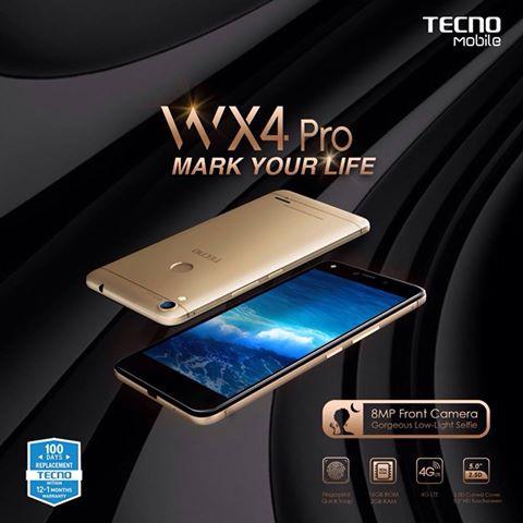 Tecno WX4 Pro Specs